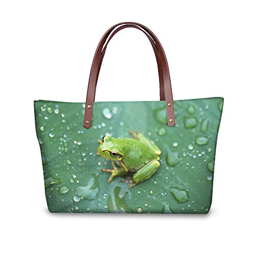 Pour Femme Cabas Multicolore Showudesigns Grenouille Chat BCHwP5nxW