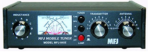 mfj-enterprises-original-mfj-945e-16-60-mhz-mobile-antenna-tuner-w-watt-meter-antenna-bypass-switch-