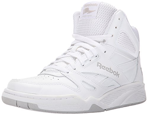 (Reebok Men's Royal Bb4500h Xw Fashion Sneaker, White/Steel, 8 4E US)