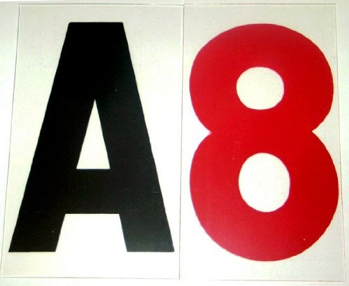8'' on 10'' inch Rigid Marquee Readerboard Sign Letters - 300 Piece Set by SLD Rigid Letters