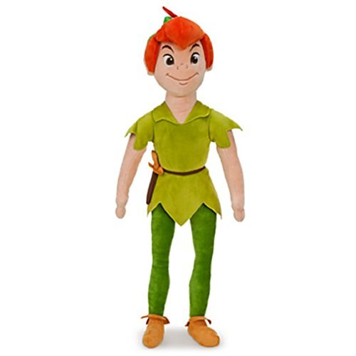 Disney Exclusive Peter Pan 20 Inch Deluxe Plush Peter Pan (Wendy Plush Doll)