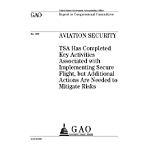 Aviation security : TSA has completed key activities associated with implementing Secure Flight, but additional actions are needed to mitigate risks