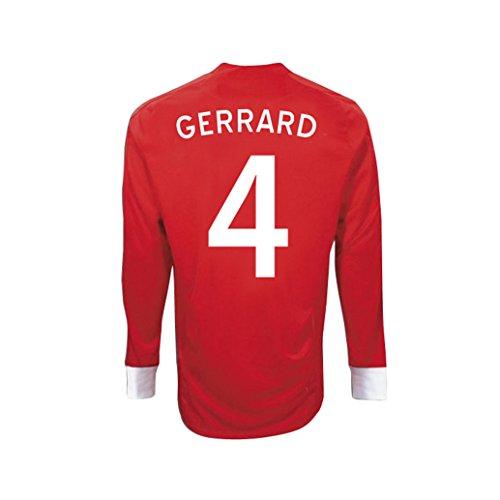 (Umbro GERRARD #4 England Away Jersey Long Sleeve (38-40-M))