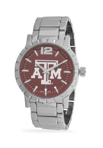 Collegiate Licensed Texas A&M Men's Fashion Watch, Removable - Texas Wrist A&m Watch