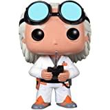 Pop! Movies - Dr. Emmet Brown 'Doc' de Regreso al futuro, figura de 10 cm (Funko FUNVPOP3399)