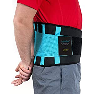 Clever Yellow Back Support Belt, Lower Back Brace - the Only Certified Medical-Grade Belt for Pain Relief and Injury… 32