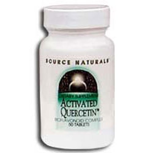 Activated Quercetin, 50 Tabs by Source Naturals (Pack of 6)