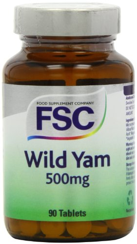 FSC 500mg Wild Yam - Pack of 90 Tablets
