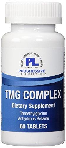Progressive Labs TMG Complex Supplement, 60 Count