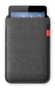 Freiwild Sleeve 7 grau-meliert (anthrazit) für iPad mini. Filz, Schutzhülle, Tasche, Case