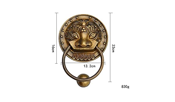 YoiGn Llamador de la Puerta Heavy Duty Victorian Vintage ...