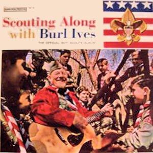 Scouting Along With Burl Ives: The Official Boy Scouts Album [Vinyl LP] (Scouts Boy Album)