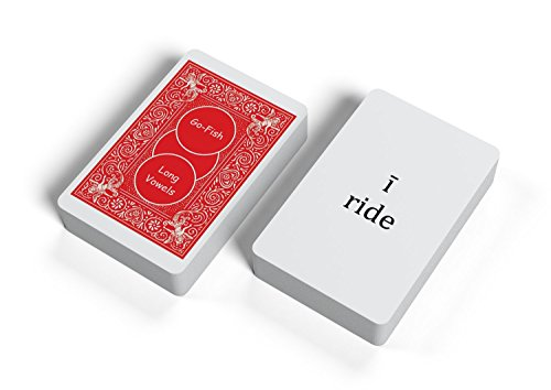Go Fish for Long Vowels: Kids Learn Word Patterns Through a Super Fun and Familiar Playing Card Game