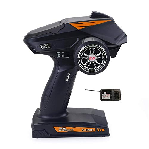 RC Metal Gear Racing 2.4G 4-Channel RC Radio Control Remote Controller Transmitter with Receiver for 8277 Truck RC Car Boat