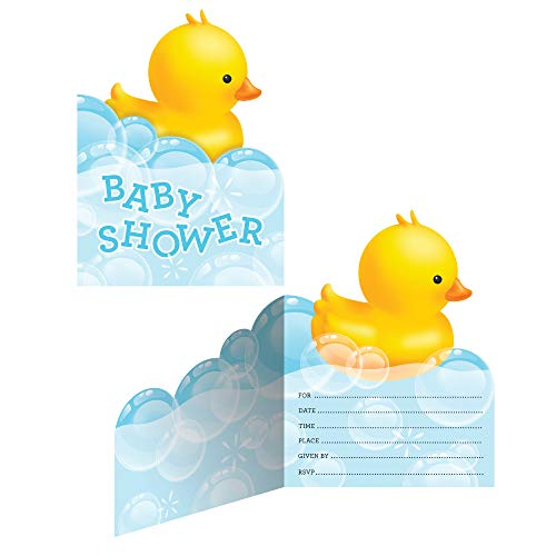 Bubble Bath Baby Baby Shower Party Invitations - Pack of 24]()
