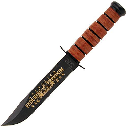 Cheap Ka-Bar USN OEF Afghanistan Commemorative Knife
