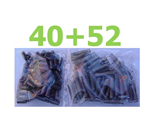 40 166-29 Motor Brushes & 52 166-30 Coil Springs Compatible w/Lionel Hobby Train Quick Arrive