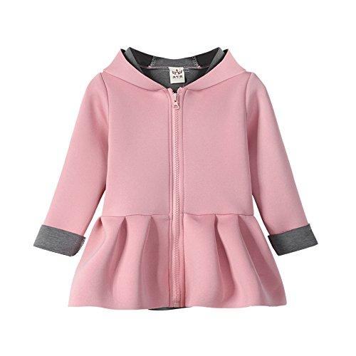 69b5be9b2 Amazon.com  Bokeley Kid Outwear Girl Autumn Winter Waistcoat Rabbit ...