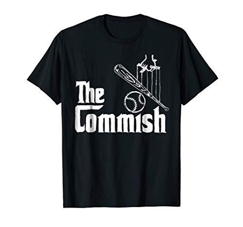(Fantasy Baseball The Commish T-Shirt)