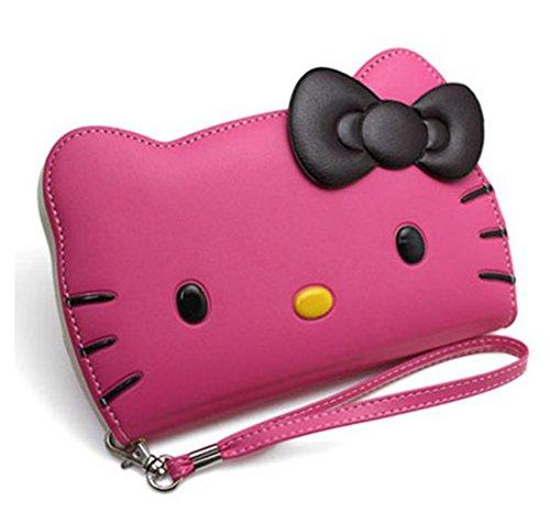 Kitty City iPhone 7 Plus Case, Hello Kitty 3D Wallet Case...