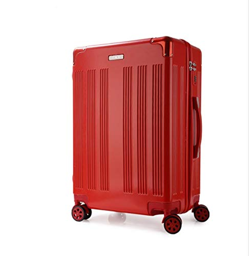 Size : L TangFei Universal Wheel Trolley case Luggage Small Fresh Suitcase