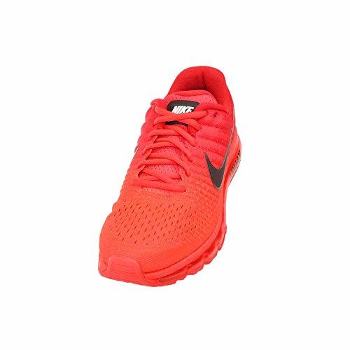 Nike Heren Air Max 2017 Helder Karmozijnrood / Zwart, 13 M Ons