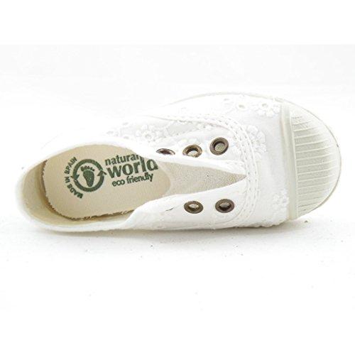 WORLD RAGAZZA RICAMATO NATURAL Bianco BIANCO BAMBINA PqBp6zR
