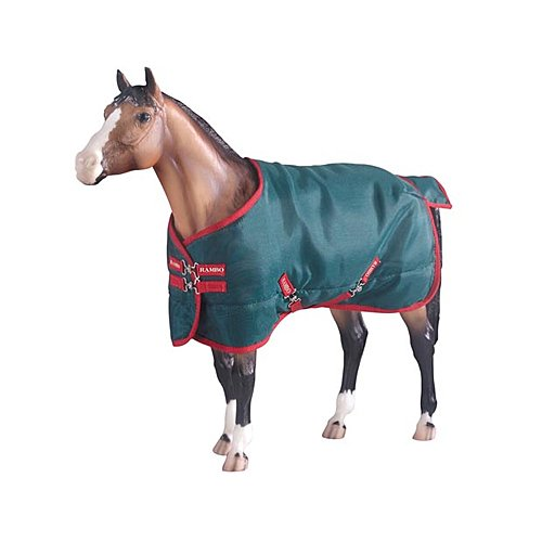 Breyer Rambo Blanket, Green/red