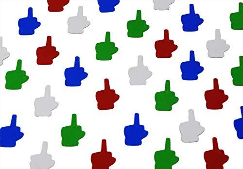 ROFLmart Funny Middle Finger Party Confetti - Confetti Job