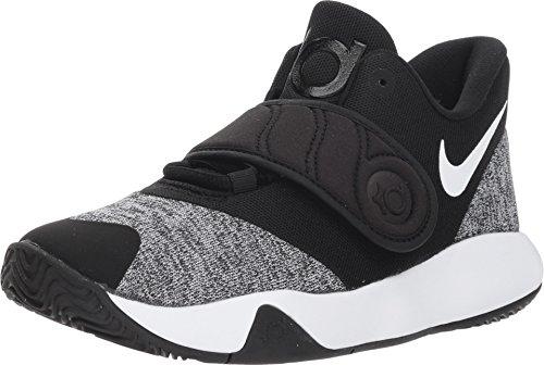 Nike Boy's KD Trey 5 VI Basketball Shoe Black/White Size 7 M US