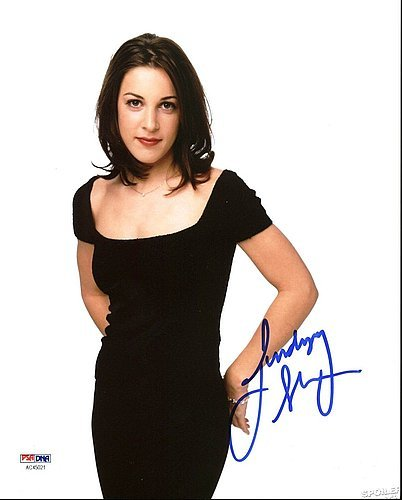 Lindsay Sloane Sexy Signed Signed 8 x 10 Photograph - PSA...