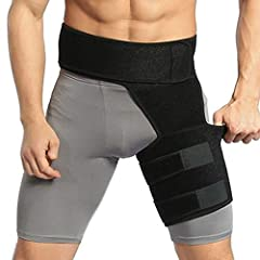 ✅ Experience Unparalleled Pain Relief with the Pivit Groin Compression Wrap Our premium groin compression wrap provides optimal support and relief for groin strains, pulled hamstrings and quad injuries, while stabilizing the upper thigh and gradually...
