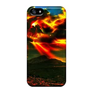 Hot Fashion VHi5864mKZl Design Case Cover For Iphone 5/5s Protective Case (supernova)