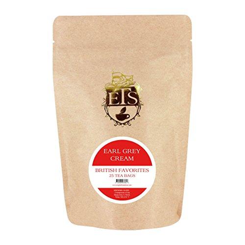 English Tea Store Earl Grey Cream Teabags, 25 Count