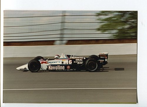 Mario Andretti #6 CART IndyCar Race Photo 1990 Indy 500 3.5