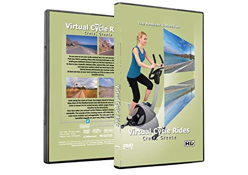 (The Ambient Collection Virtual Cycle Rides DVD - Crete, Greece - for Indoor Cycling, Treadmill and Exercise Workouts)