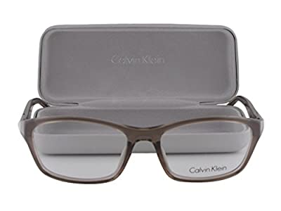 Calvin Klein CK5861 Eyeglasses 53-17-135 Sand Brown Crystal 208