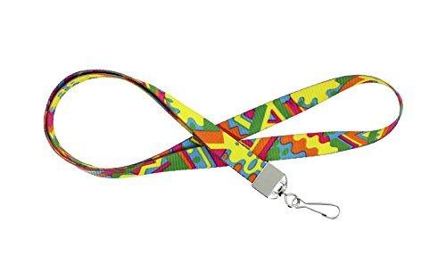34' Deluxe viaje cordón | ID Badge Holder | De tela suave | teléfono celular | Llavero | portafolios | Tarjeta de crédito...