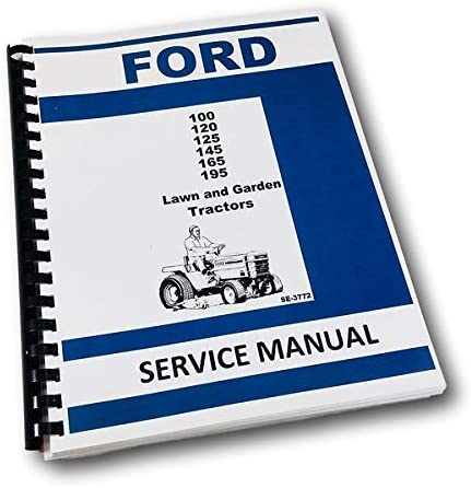 amazon com ford lgt 100 120 125 145 165 195 lawn \u0026 garden  145 ford tractor wiring diagram