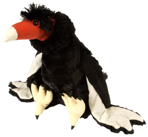 Wild Republic Turkey Vulture Plush, Stuffed Animal, Plush Toy, Gifts for Kids, Cuddlekins 12 ()