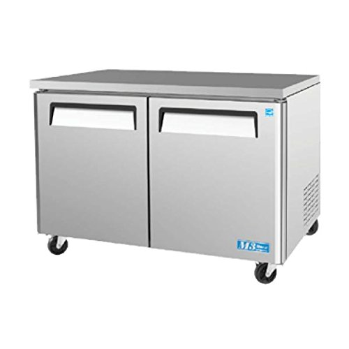 Series Refrigerator Undercounter Commercial - MUR48 12 cu. ft. M3 Series Undercounter Refrigerator with Efficient Refrigeration System Hot Gas Condensate System High Density PU Insulation and PE Coated Adjustable Shelves: Stainless Steel