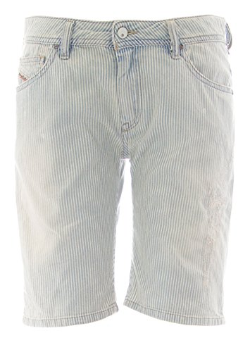 Pinstripe Bermuda Shorts - 2