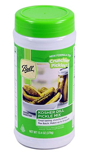 Ball Kosher Dill Flex Batch Pickle Mix, 13.4-Ounce (Pack of (Kosher Pickled Pickles)