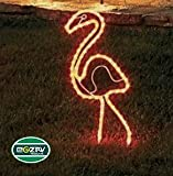 Northlight Tropical Lighted Pink Flamingo Rope