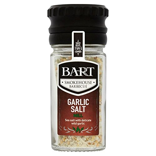 Bart Smokehouse Barbecue Garlic Salt Mill (60g) - Pack of 2 by Bart
