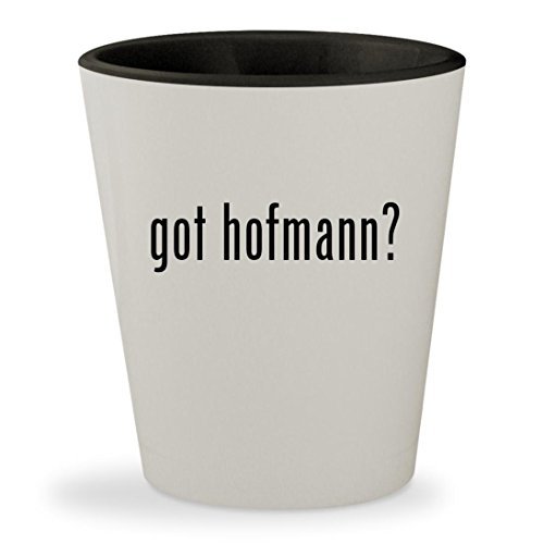 got hofmann? - White Outer & Black Inner Ceramic 1.5oz Shot (Wolfgang Black Tire)