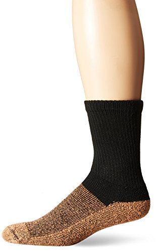 Copper Sole Womens Cupron Pro Therapy Diabetic Crew Socks without Logo