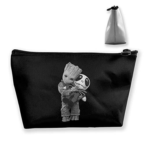 (Toiletries Organizer Bag Makeup Storage Bag Groot Hugs Jack)