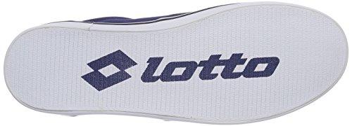 Lotto Sport 80'S - zapatilla deportiva de lona hombre azul - Blau (INCHIOSTRO)