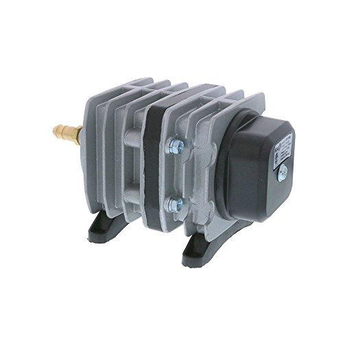 EcoPlus 793 GPH (3000 LPH, 18W) Commercial Air Pump w/ 6 Valves | Aquarium, Fish Tank, Fountain, Pond, Hydroponics by EcoPlus (Image #1)